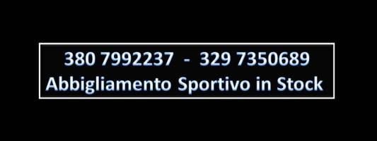 Abbigliamento Sportivo In Stock