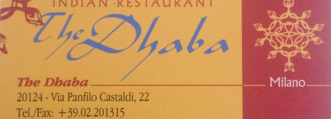 The Dhaba – Indian Restaurant Porta Venezia Milano
